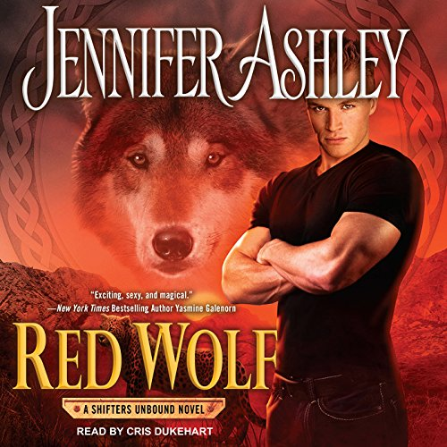 Red Wolf audiobook cover art