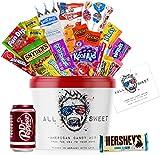 ALL SWEET 24 Teile Amerikanische Süssigkeiten Box XXL, Süßigkeiten Großpackung die Mystery Box,...