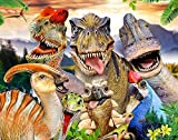 500PCS Dinosaur Jigsaw Puzzles for Kids Adults Dino Educational Intellectual Game Gift Set