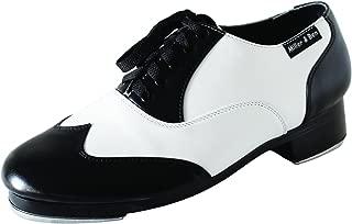 Tap Shoes; Jazz-Tap Master; Black & White - Standard Sizes