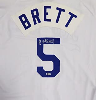 george brett authentic jersey