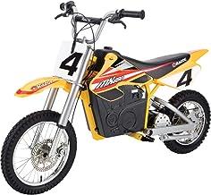 Razor MX650 Dirt Rocket Electric-Powered Dirt Bike with Authentic Motocross Dirt Bike Geometry, Rear-Wheel Drive, High-Tor...