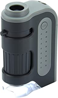 Carson MicroBrite Plus LED Lighted Pocket Microscope
