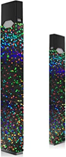 Holographic Black Glitter Skin for Juul | Wrap | Decal | Sticker | Cover | Case (Single)