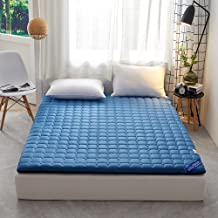 Foldable Floor Mattress Kids,Japanese Futon Mattress,Cotton Dormitory Sleeping Mat,Roll Up Sleeping Pad Full Size,Tatami F...