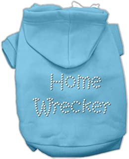 Mirage Pet Products Home Wrecker Hoodies Baby Blue XS