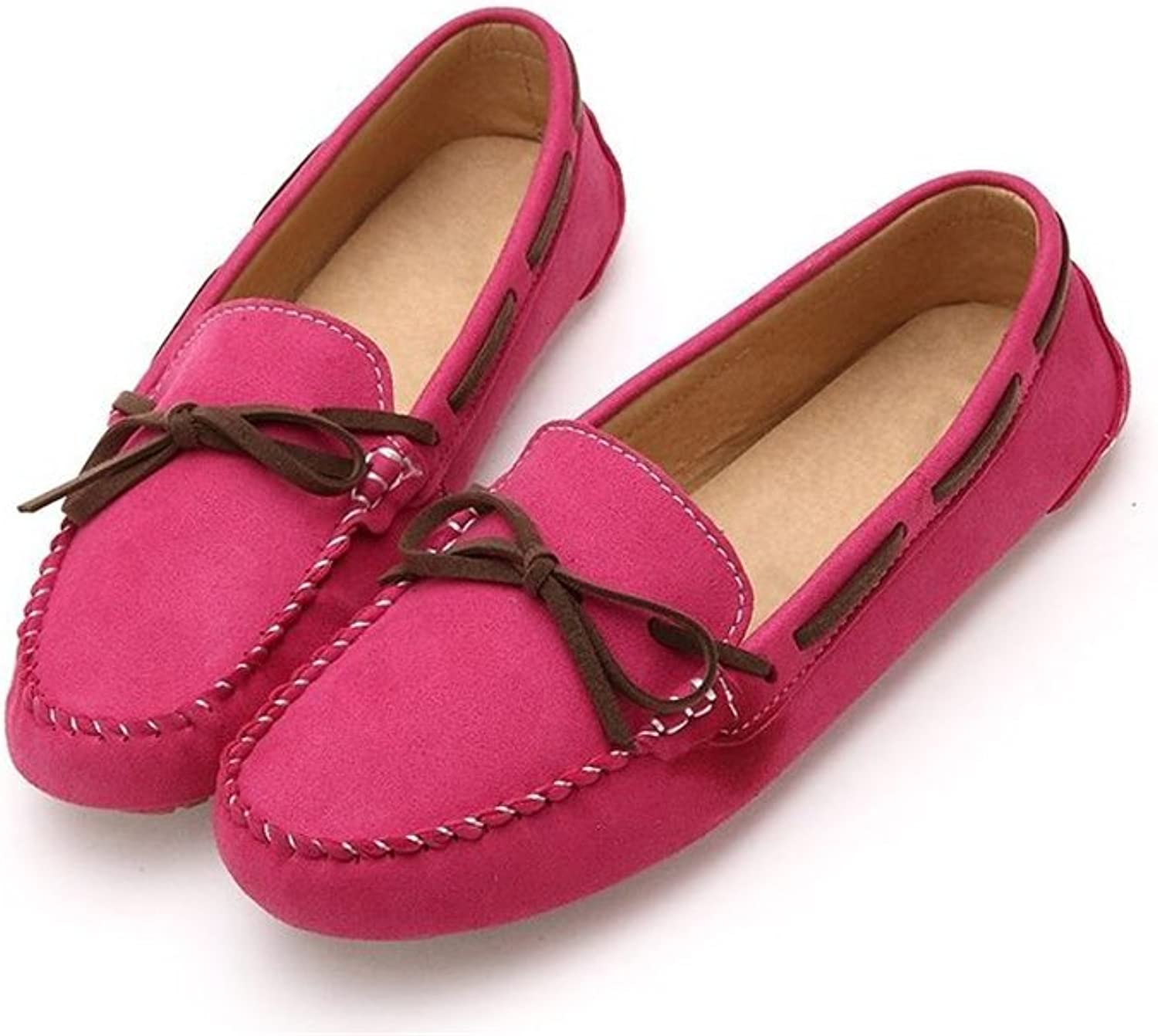 Excellent.c Women's Non-Slip Loafers Comfortable Flat shoes Round Toe Casual shoes