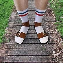 Ginger Fox Novelty Joke Sandal Socks One Size Fits All