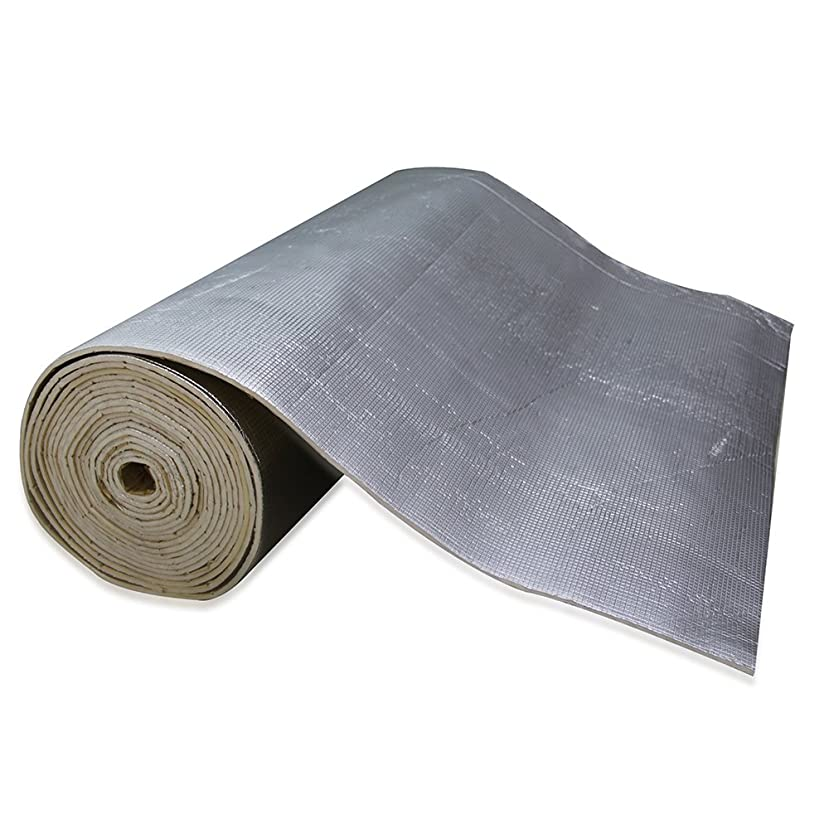 SHINEHOME Heat Shield Sound Deadener Deadening Heat Insulation Mat Noise Insulation and Dampening Mat Heat Proof Mat 72