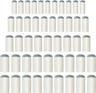 ABOAT 50 piezas 4 tamaños de taco de billar puntas de repuesto para taco de billar, 9 mm, 10 mm, 12 mm, 13 mm