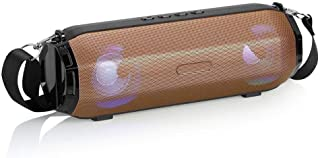 Goglor Bluetooth Speaker, Portable Hi-Fi Stereo and Bass Wireless Speakers with LED Colorful Lights, Handsfree Calling, FM Radio, Perfect for Home, Outdoors, Party, Travel