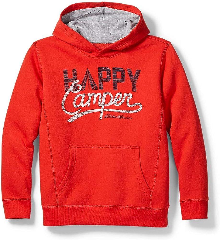 Eddie Bauer Boys' Camp Fleece Graphic Hoodie