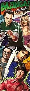 Pyramid America Big Bang Theory Comic Book Parody TV Show Door Cool Wall Decor Art Print Poster 12x36
