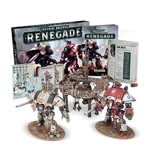 Games Workshop Warhammer 40 K - Imperial Knights Renegade EN