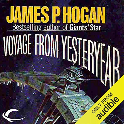 Voyage from Yesteryear audiobook cover art