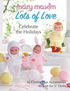 Mary Maxim Lots of Love - Celebrate The Holidays Book