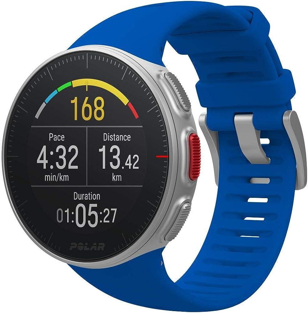 Polar  sportwatch per allenamenti multisport e triathlon impermeabile con gps e cardiofrequenzimetro integrato 90080283