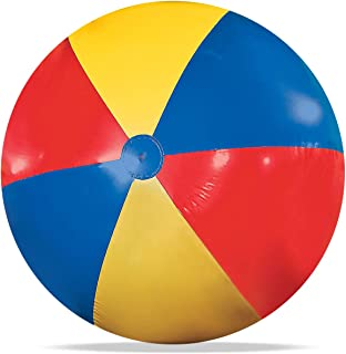 Novelty Place Giant Inflatable Beach Ball, Pool Toy for Kids - Jumbo Size 5 Feet (60 Inches)