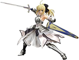 Siyushop Fate/Unlimited Codes: Saber Lily Distant Avalon PVC Figure - Highly Detailed Accurate Sculpt - Equipped with Weapons - High 21CM