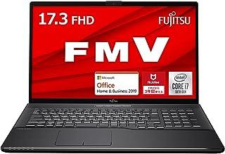 【公式】 富士通 ノートパソコン FMV LIFEBOOK NHシリーズ WN1/E2 (Windows 10 Home/17.3型ワイド液晶/Core i7/16GBメモリ/約512GB SSD + Optaneメモリ 約32GB/Blu-r...