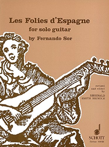 Les Folies d'Espagne: Gitarre.