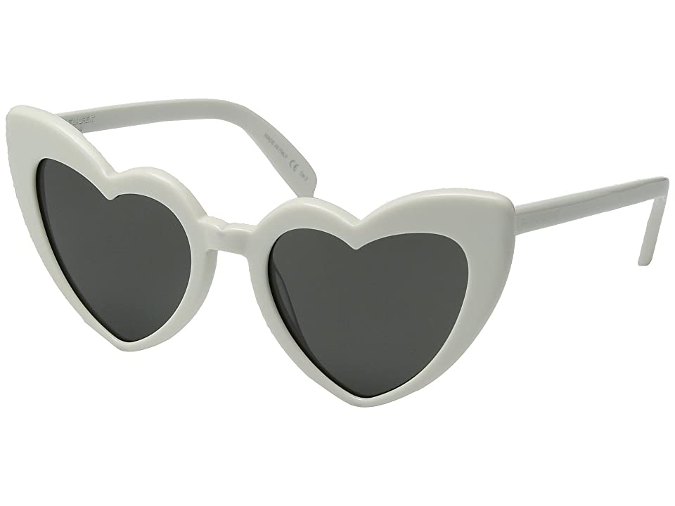 Saint Laurent SL 181 Loulou (Ivory/Grey) Fashion Sunglasses