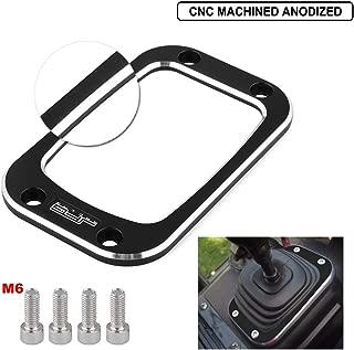 Billet Aluminum ATV Gear Shift Boot Trim Plate Manual Transmission For Yamaha Rhino 660 700