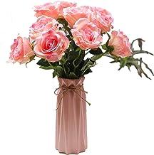 XXT falska blommor simulering lök kula blomstras-silke blommor-vardagsrum blommig torkade blommor set inredning tabell te