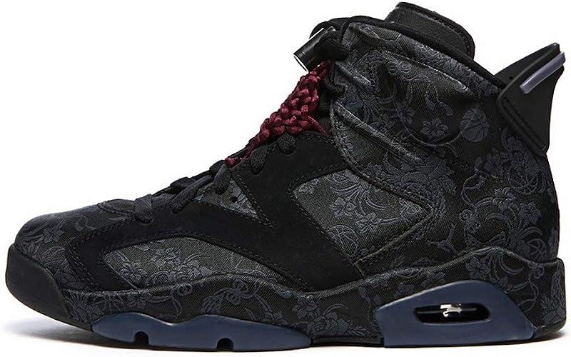 Jordan Women's Shoes Nike 6 Retro Singles Day Triple Black DB9818-001