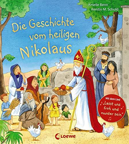"""Die Geschichte vom heiligen Nikolaus: Mit dem Lied """"Lasst uns froh und munter sein"""""""