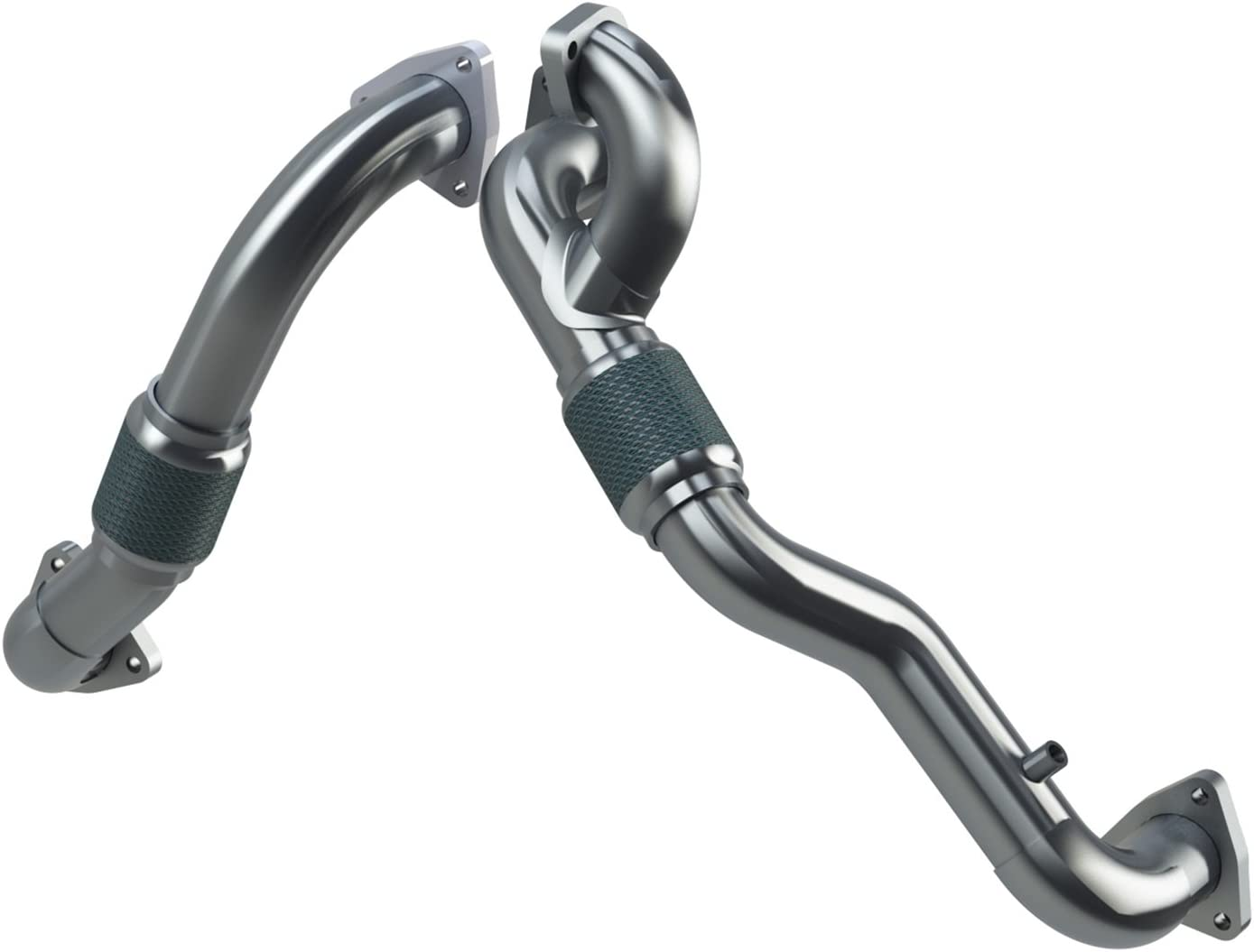 Max 63% OFF MBRP FAL2761 Turbo Up Pipe Steel Kit Shipping included Aluminized