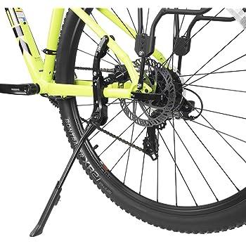 "Aluminum Bicycle Single Leg Kickstand 24/""-29/"" Mountain Bike Stand Floor Parking"