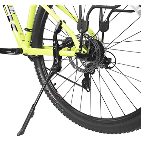 New Alloy Adjustable Kick Stand Side Foot with Rubber For Bike Cycling B OSD