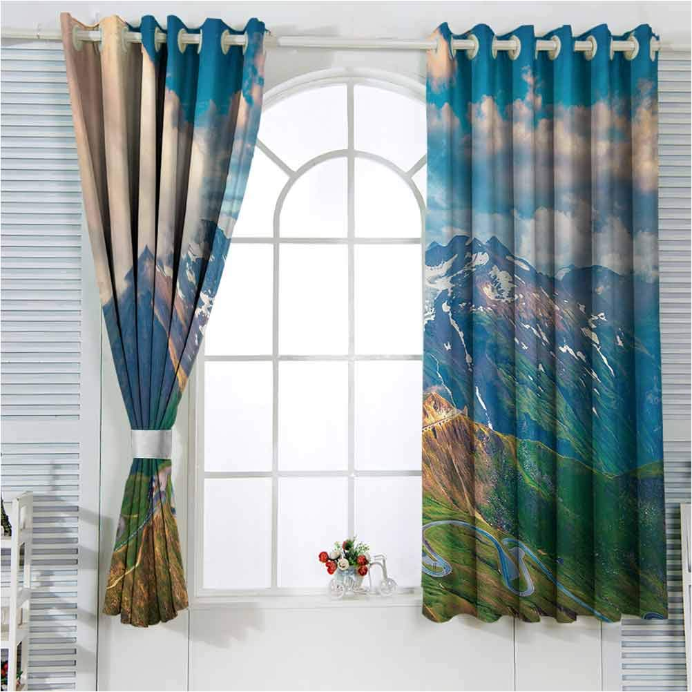 Mountain Noise Reducing Window Year-end annual account Drapes Room for Grossglock Living Ranking TOP2