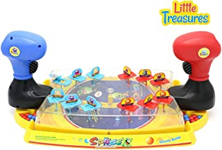 Little Treasures Space Game Solo Alien Defender Conquest Battle Play Set from with Individual Launch Pad and Alien Invaders! (Renewed)