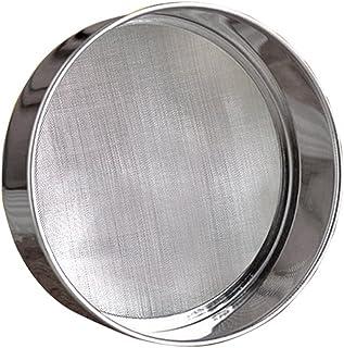 """LOVEDAY 6"""" Flour Sieve Stainless Steel Round Flour Sieve Strainer with 40 Mesh (6 Inch, 18/8 Steel) Flour Sieve"""