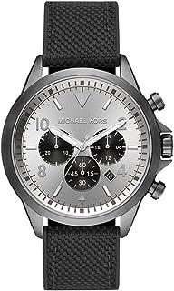 Michael Kors Gage Men's Grey Dial Nylon Analog Watch - MK8787
