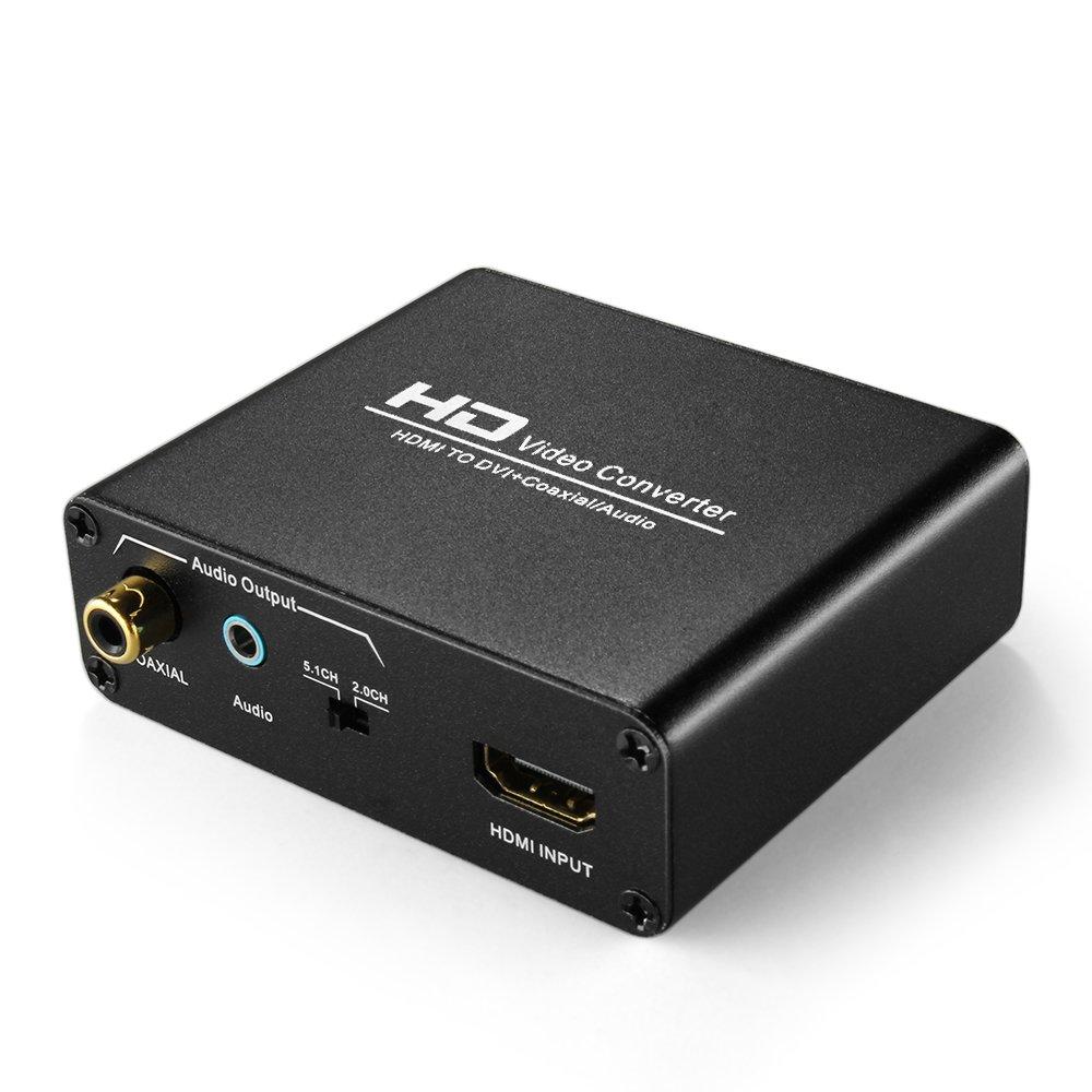 TNP HDMI DVI Converter Audio