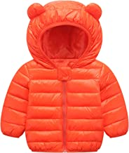 Happy Cherry Baby Kids Hooded Long Coat Winter Down Windproof Jacket Outerwear