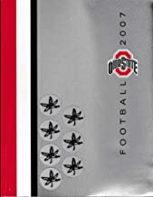 2007 Ohio State Football Media Guide Real Buckeye Helmet Decals on cover 50