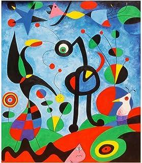 Joan Miro Abstrait Aquarelle Wall Art Affiches Et Impressions Célèbre Toile Peinture Salon Décoration Photos -50x70 cm San...