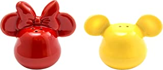 Joy Toy 62145Mickey Mouse 3D Ceramic Salt and Pepper Shaker Set red (Yellow)