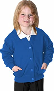Uniform Fleece Cardigan Royal Blue 9-10 Years