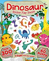 Dinosaur Sticker Play Scenes: Over 300 Stickers with 60 Puffy Stickers