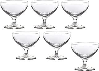 東洋佐々木ガラス アイスクリームグラス 135ml レガート 脚・線・美・人 ソルベ 日本製 食洗機対応 30G67HS 6個セット