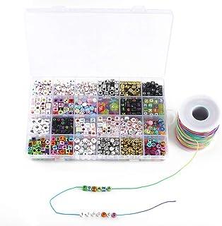 afda839ce708 Amazon.es: letras para pulseras