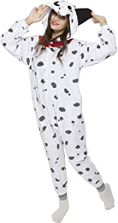 Unisex Adult Animal Pajamas Soft One-Piece Halloween Cosplay Costume