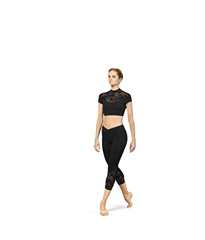 Bloch 7/8 Leggings (Black) Women