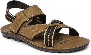PARAGON SLICKERS Men's Beige Sandals