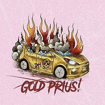 Gold Prius